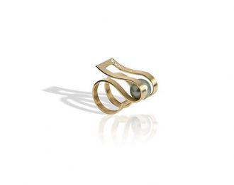 Zig and Zag  -NEW-  YELLOW GOLD 18K with DIAMS-